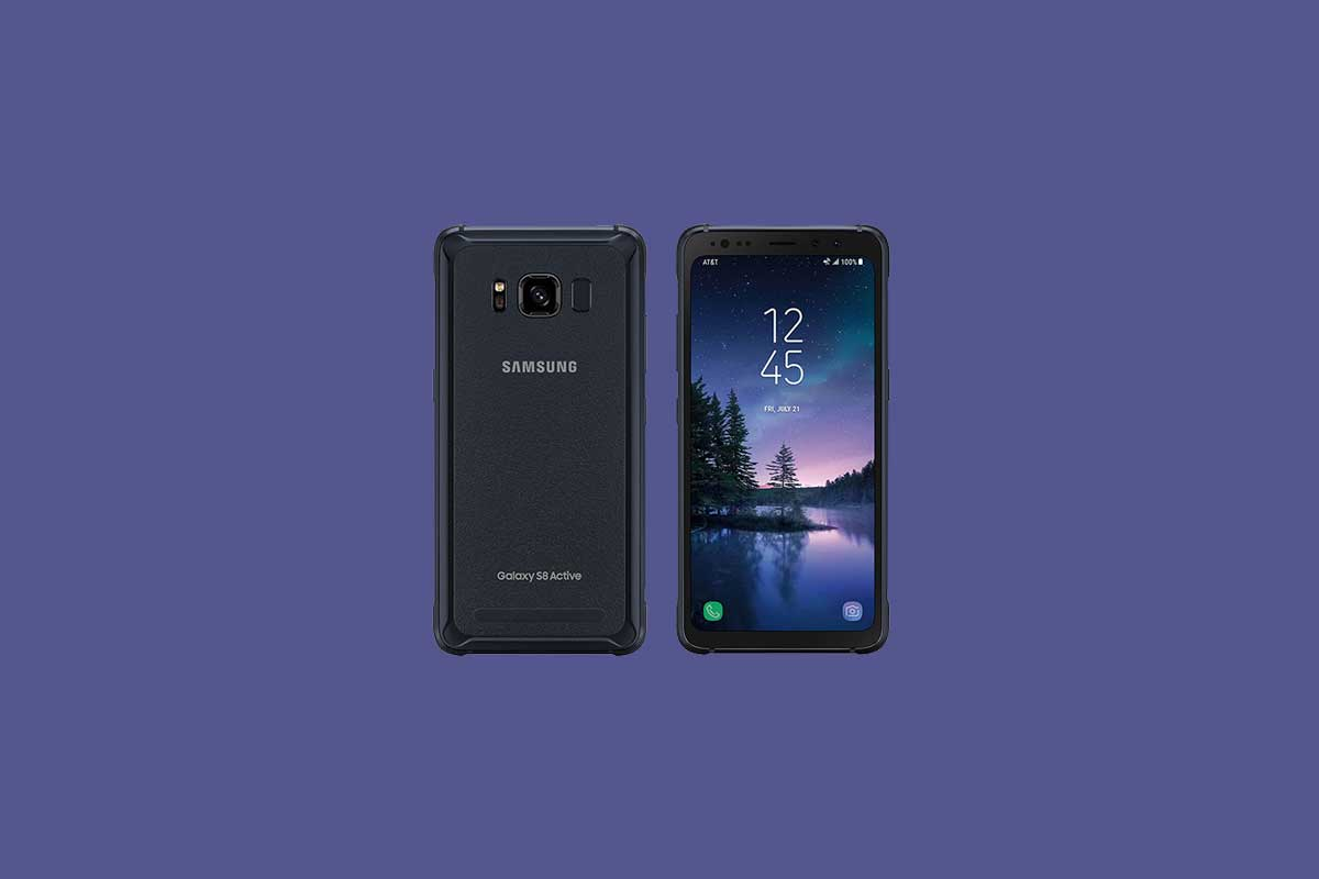Download Samsung Galaxy S8 Active Combination ROM files and